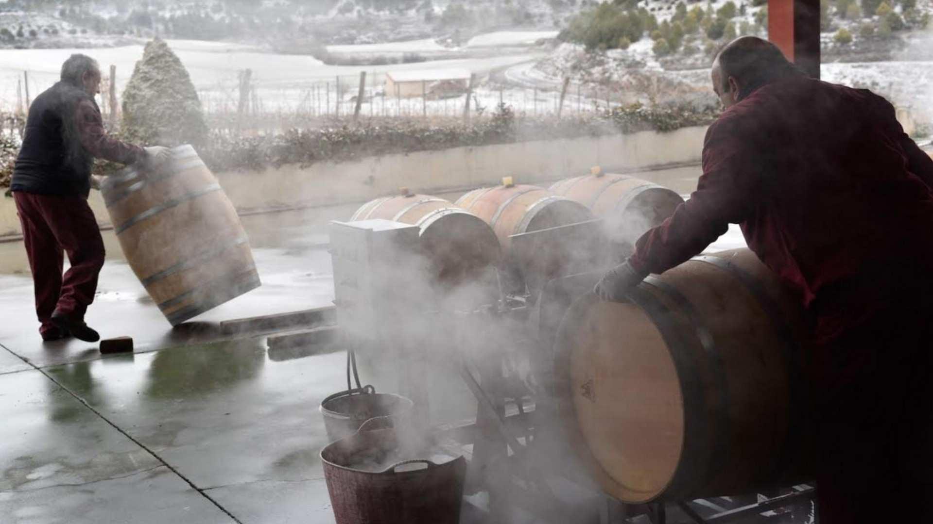 ¿Qué hace una bodega en invierno?