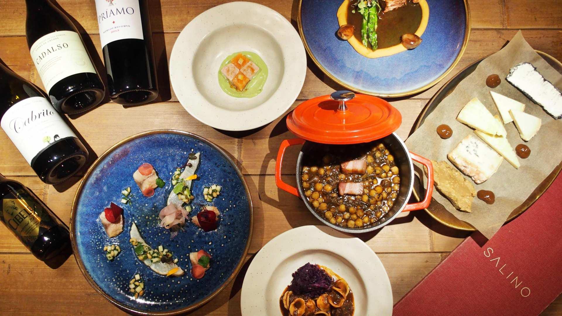 Cómete Madrid, plato a plato, en el restaurante Salino