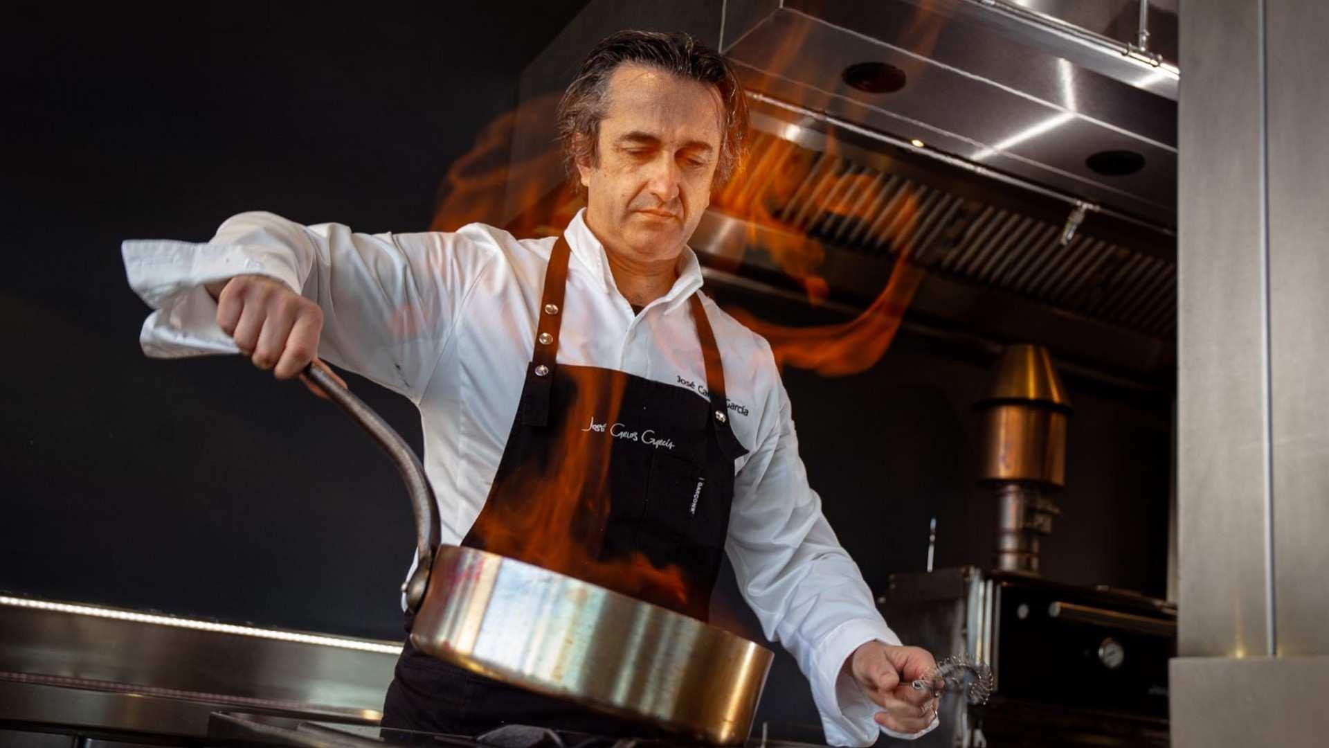 """""""Conoce José Carlos García"""", la nueva propuesta del chef malagueño para los almuerzos de Marzo"""
