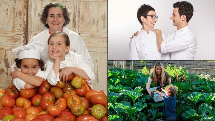 Amores de madre. Cocineras, sumilleres, cocteleras... nos muestran su gran pasión