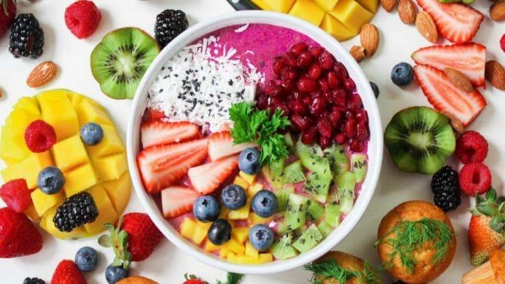 Cromatismo de los Alimentos: comer con los ojos