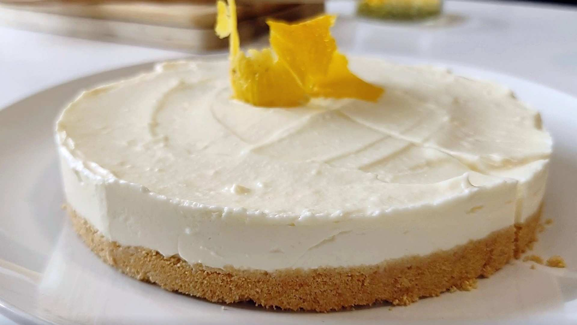 Receta fácil de Cheesecake de limón