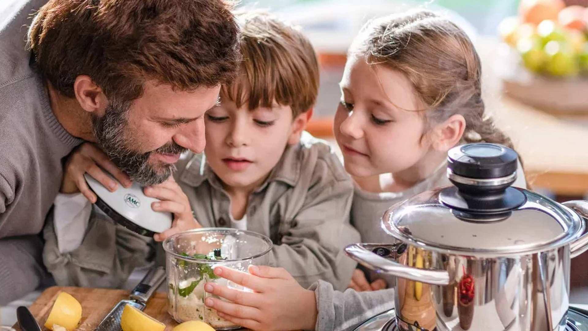 AMC, el sistema de ollas premium que revolucionará nuestra forma de comer