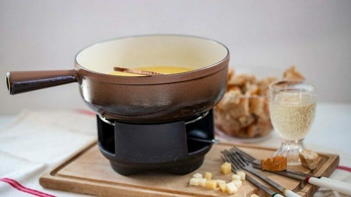Receta fácil de Fondue de queso