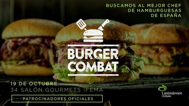 """Abiertas las inscripciones para el """"Burguer Combat"""": ¿Quién hace la mejor hamburguesa Gourmet de España?"""