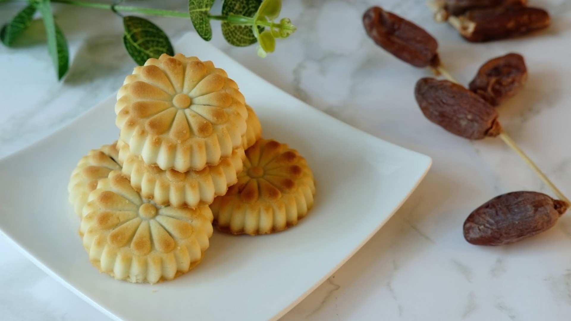 Receta de Ma'amoul (Pasteles de dátiles)