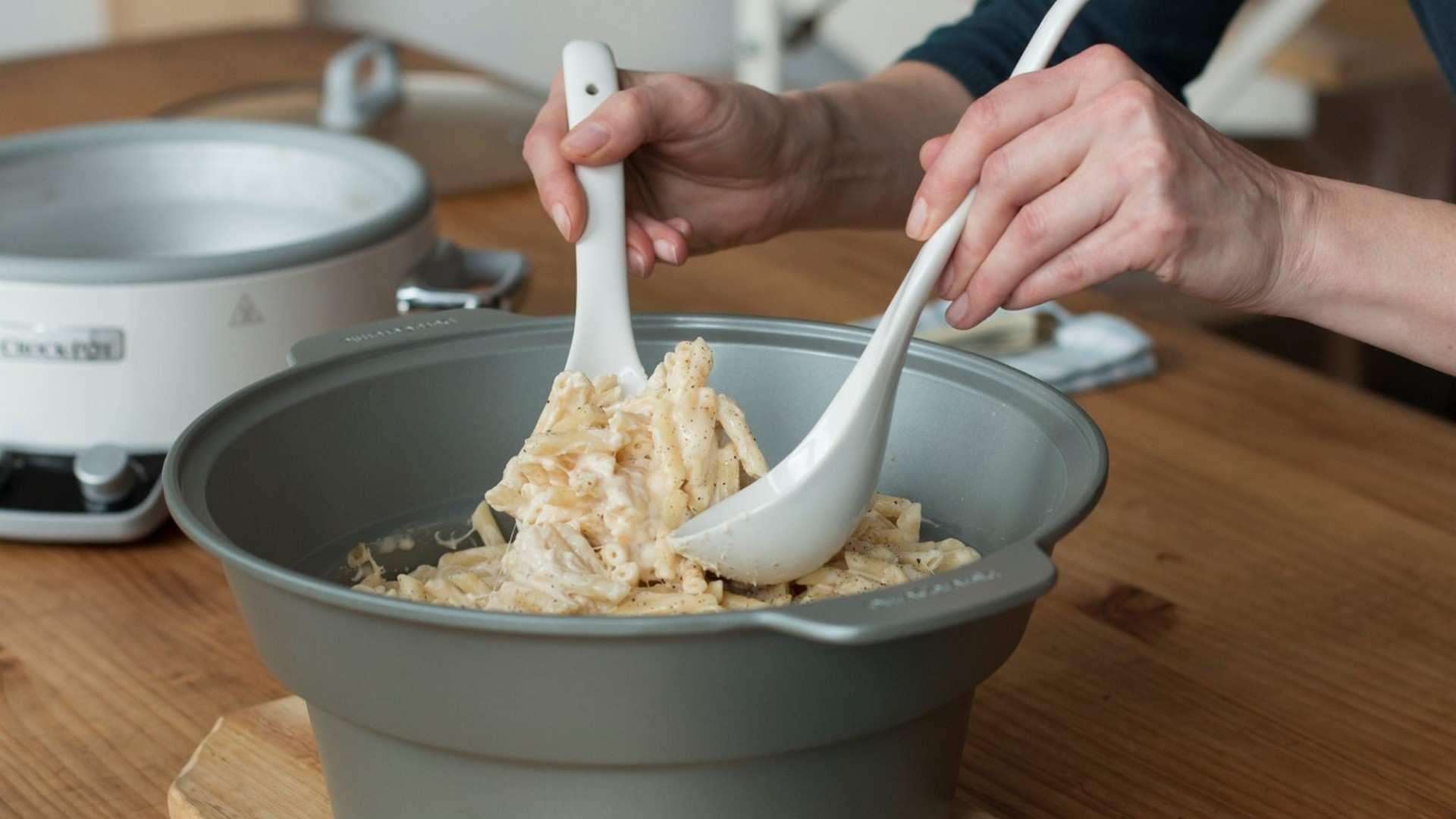 Receta de Mac & Cheese con Crock-Pot