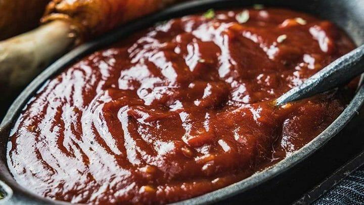 Receta de salsa Barbacoa con cola-cola