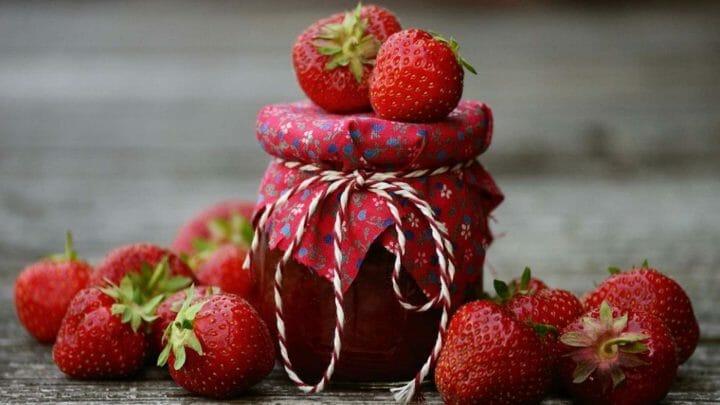 Receta de mermelada casera de fresas