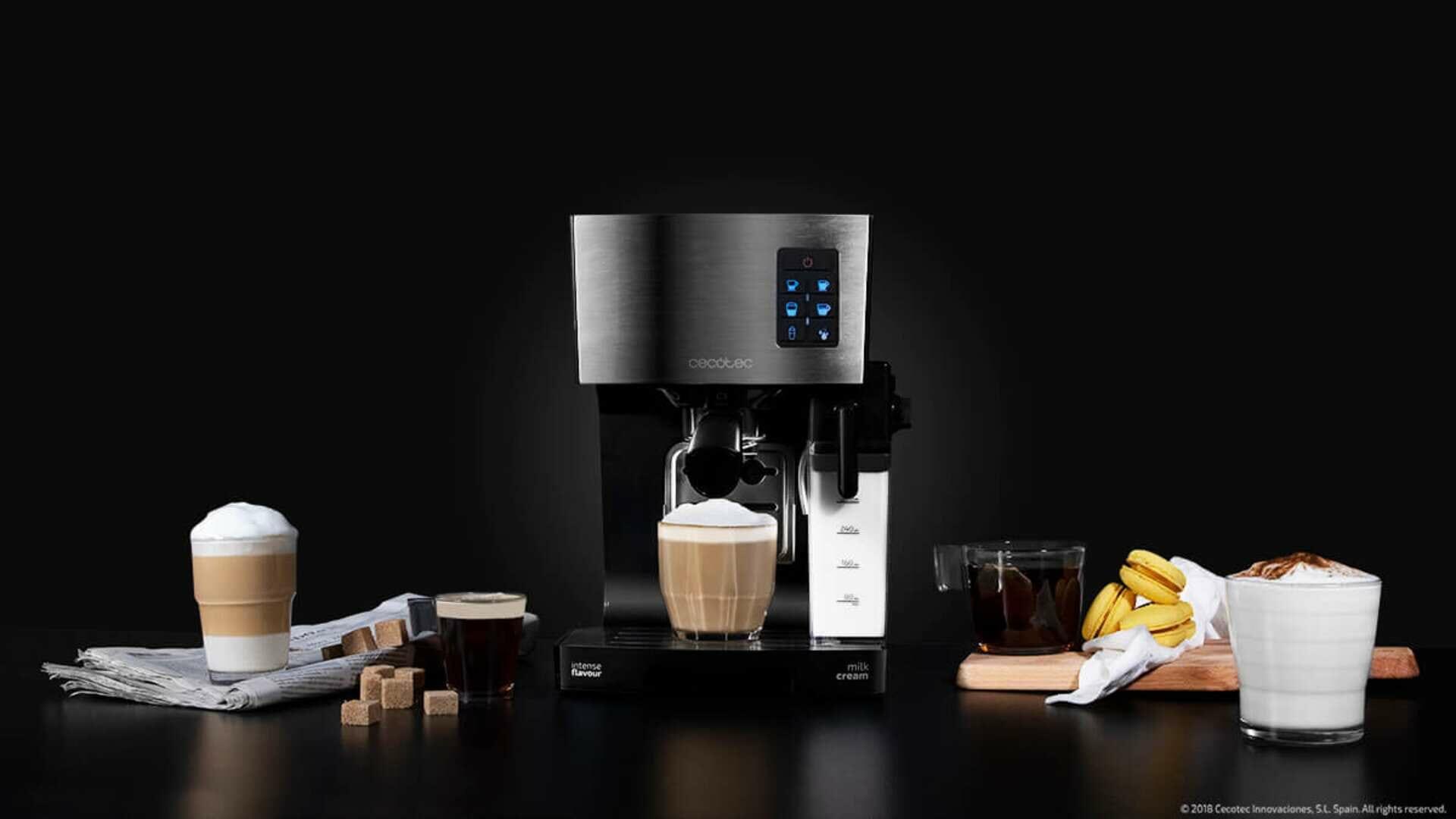 Power Instant-ccino 20: la cafetera sin cápsulas de Cecotec