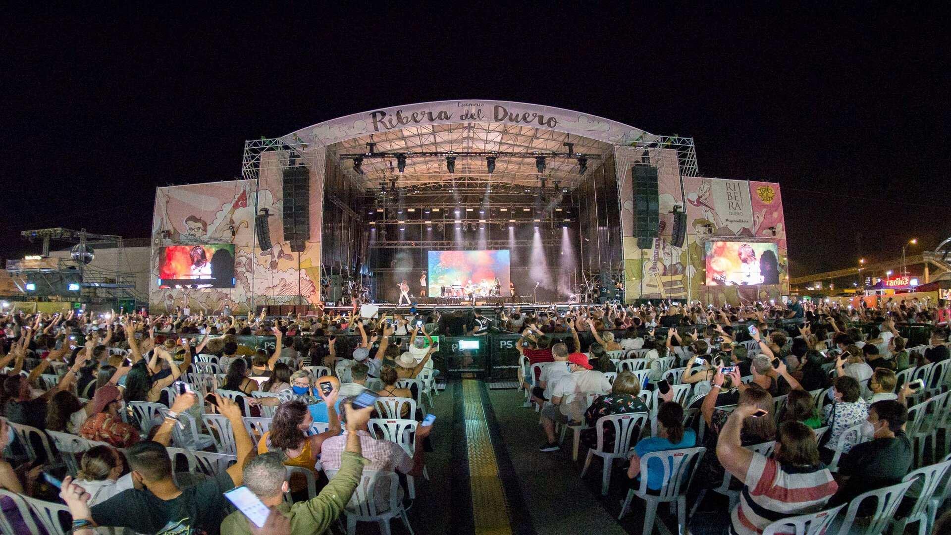 5.000 asistentes disfrutaron de botellas de Ribera de Duero en la vuelta de Sonorama Ribera