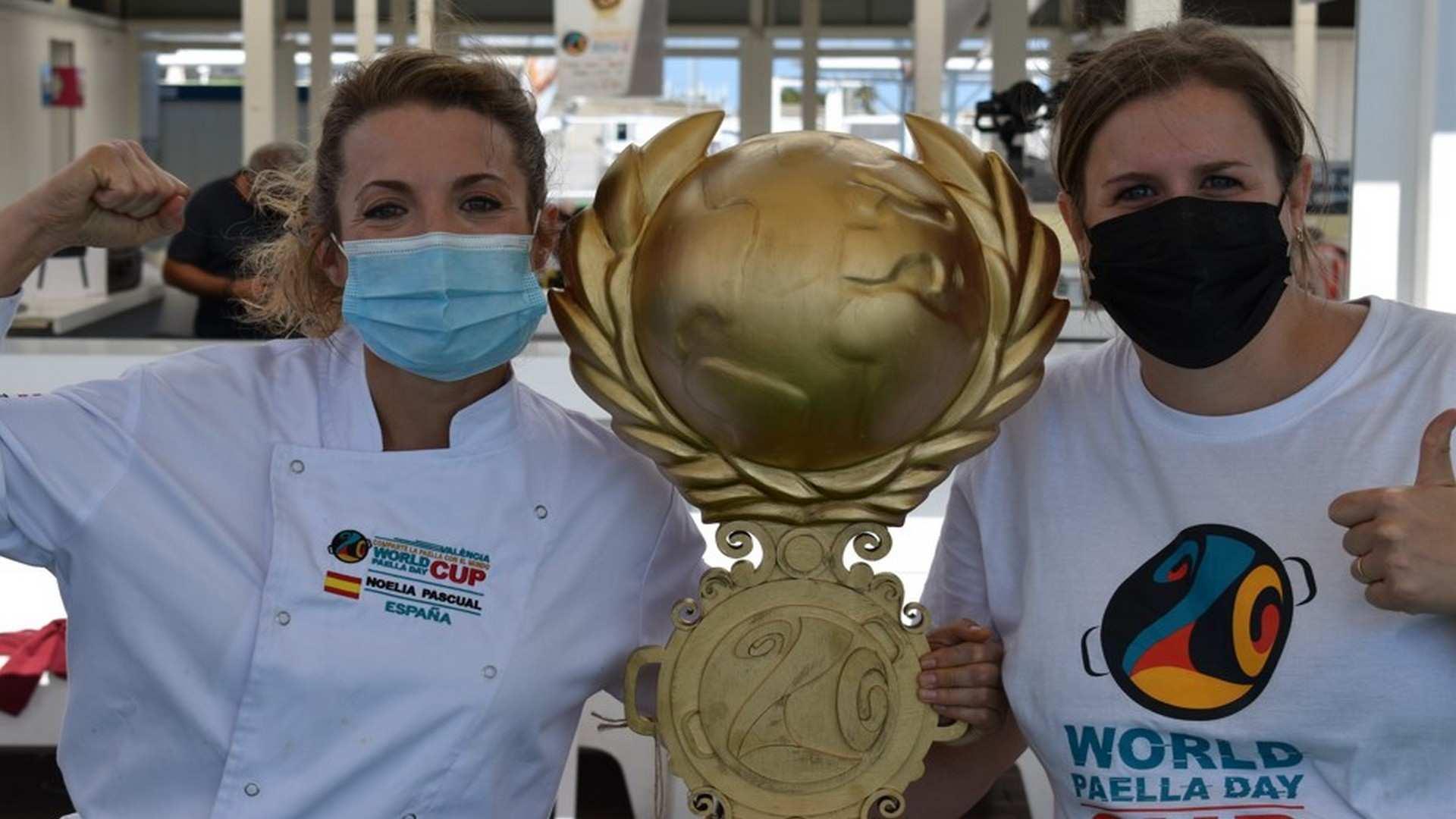 World Paella Day 2021: la Chef española Noelia Pascual se lleva el premio a la mejor Paella del Mundo
