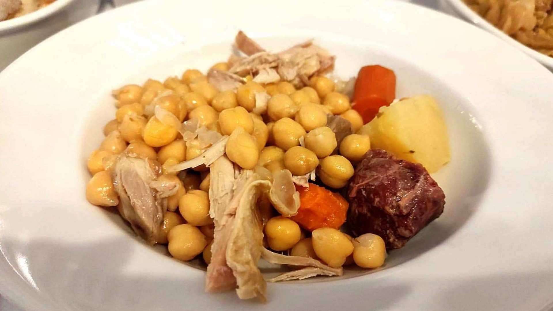 """Cocido madrileño """"estilo kosher"""""""