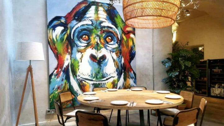 Bar Mono: cocina internacional en el barrio Gótico de Barcelona