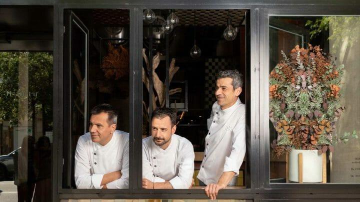 Oriol Castro, Eduard Xatruch y Mateu Castañas